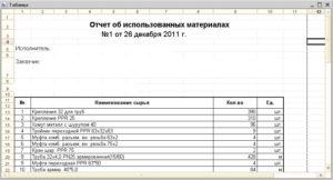 В договоре указать отчет об использованных материалах заказчика