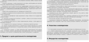Устав гск в новой редакции 2017 года образец