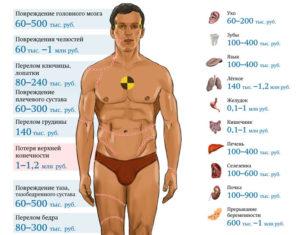 Перечень органов которые можно продать