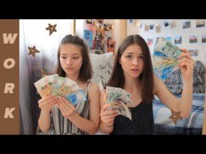 Как заработать деньги в 10 лет девочке на улице