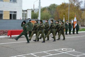 Как дают увалы в армии