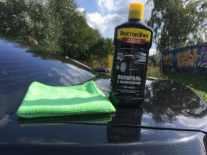 Какую полироль выбрать для автомобиля черного цвета после покраски