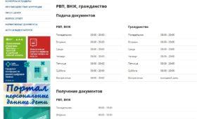 Фмс сахарово официальный сайт график работы 2018