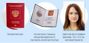 Выдача загранпаспорта копия паспорта какие страницы