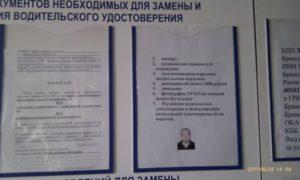 Какие нужны документы белорусам для замены водительского удостоверения