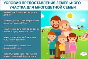 Что можно получить за третьего ребенка вместо земли в 2018