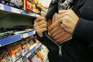 От какой цены будут вызывать полицию за воровство в магазине