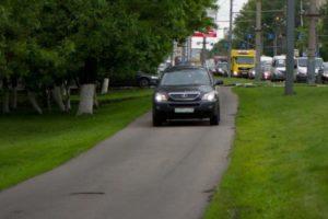 Пдд езда по тротуару для разгрузки
