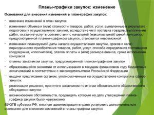 Обоснование внесения изменений в план закупок по 223 фз примеры