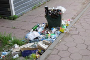 Разбрасывание мусора в общественных местах коап рф