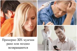 Почему мужья возвращаются к бывшим женам психология