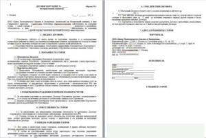 Договор поручение на оказание услуг с физическим лицом