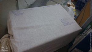 Как обшить посылку тканью для отправки по почте авиа