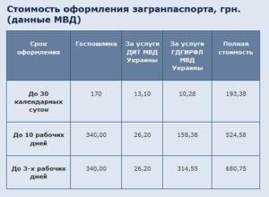 Сколько дней делается загранпаспорт в москве