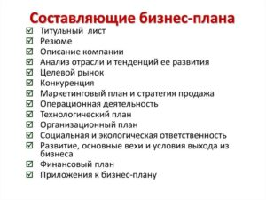 Пример бизнес плана для ип в беларуси