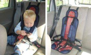 Детское автокресло бескаркасное разрешено ли в гибдд