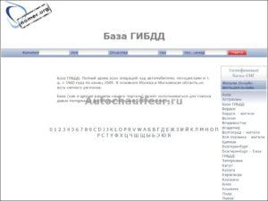 Как найти авто по фамилии владельца в россии