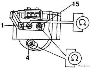 Пассат б4 двиг 2е как проверит катушку зажигания мультиметром