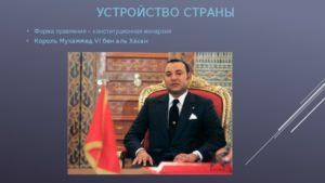 Форма правления в марокко настоящее время